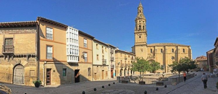 Plaza de España de Briones