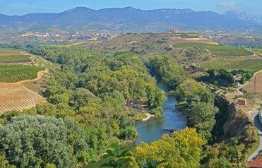 El Río Ebro desde Briones