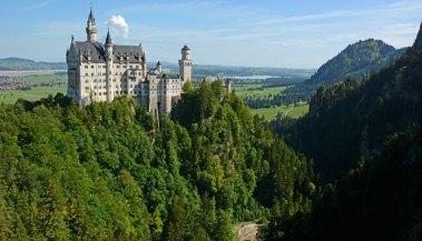 Castillo de Neuschwanstein y Garganta del Río Pöllat