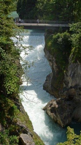 FÜssen. Puente y Desfiladero del Río Lech