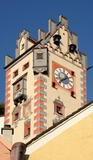 Füssen. Torre del Castillo