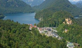 Hohenschwangau. Lagos de Alpsee y Schwansee