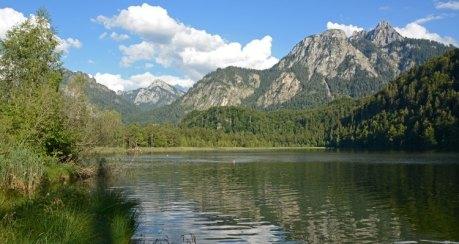 Lago de Schwansee. Lago de los Cisnes