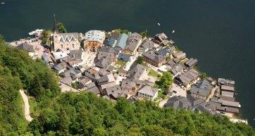 Hallstatt. Vista desde el Mirador de la Torre de Rodolfo
