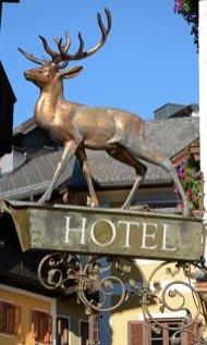St Wolfgang. Hotel Ciervo