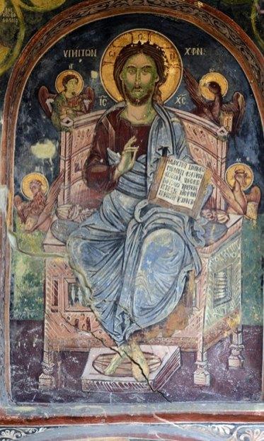 Monasterio de Rozhen. Pantocrator
