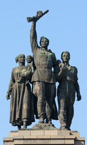 Sofía. Monumento al Ejército Soviético. Grupo Principal