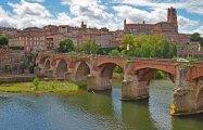 Pont Vieux y Catedral de Albi