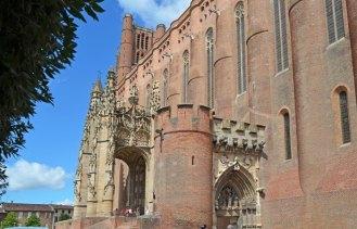 Puerta y Baldaquino - Exterior de la Catedral