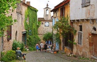 Vista desde la Gran Rue de la Barbacane