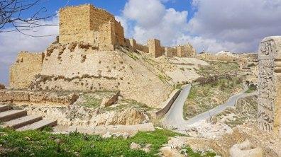 Vista del Castillo de Al-Karak