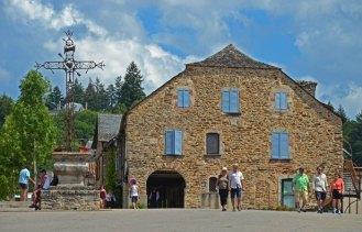 Arquitectura tradicional en Najac