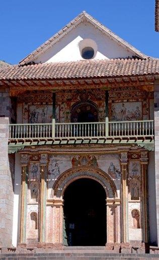Andahuaylillas. Iglesia de San Pedro. Portada