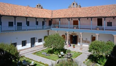 Belmond Palacio Nazarenas. Patio