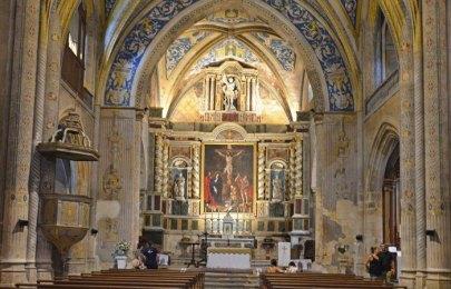 Interior de la Iglesia de Saint-Michel