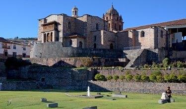 Coricancha. Jardínes e Iglesia de Santo Domingo