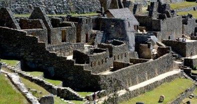 Machu Picchu. Barrio de los Nobles y Templo del Sol