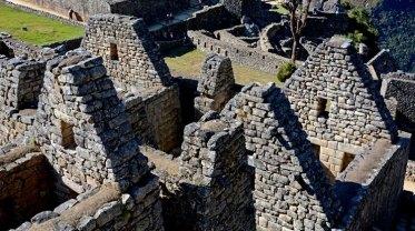 Machu Picchu. Barrio de los Nobles. Casas