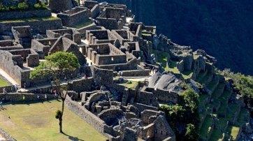 Machu Picchu. Barrio de las Prisiones y Templo del Cóndor