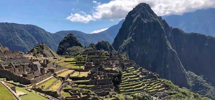 Machu Picchu desde la Casa del Guardián