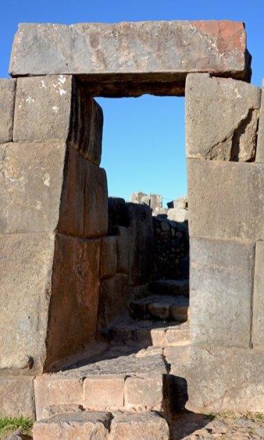 Sacsayhuamán. Puerta de las Murallas