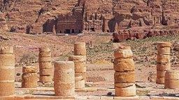 Columnas del Gran Templo