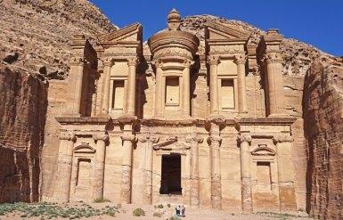 Fachada de Al-Deir