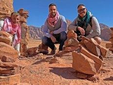 Guillermo y Andrés - Compañeros de viaje en Jordania