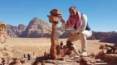 CarlosdeViaje en Wadi Rum