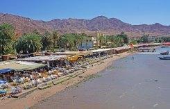 Playas en el centro de Aqaba