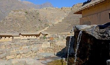 Ollantaytambo. Baño de la Nusta