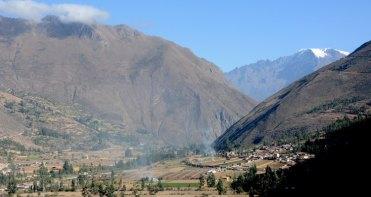 Valle Sagrado desde Ollantaytambo