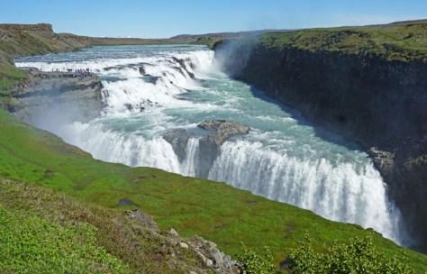 Las cascadas desde el primer mirador