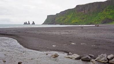 Vik i Mýrdal: El litoral