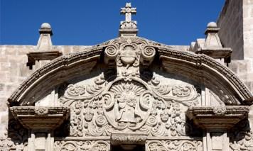 Iglesia de Santo Domingo. Detalle Portada