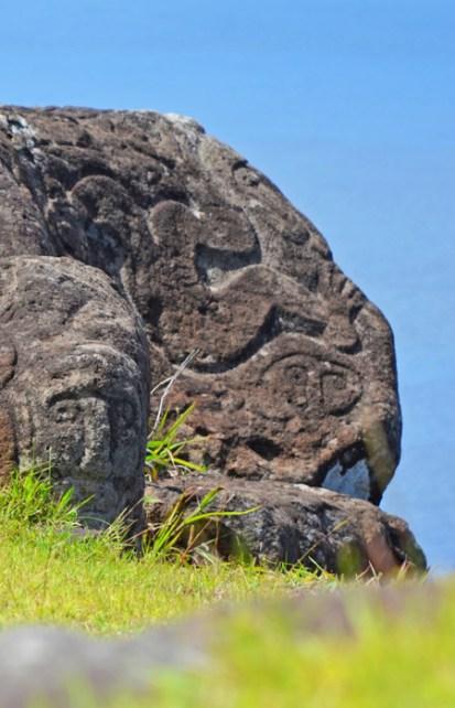 Petroglifo Tangata Manu (Hombre pájaro)