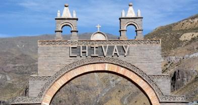 Valle del Colca. Chivay