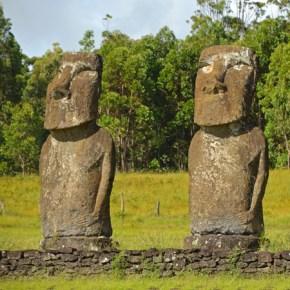 Loa moai miden aprox. 5 metros de altura