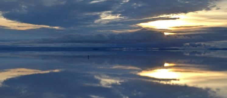 Horizontes de espejo en el Salar de Uyuni