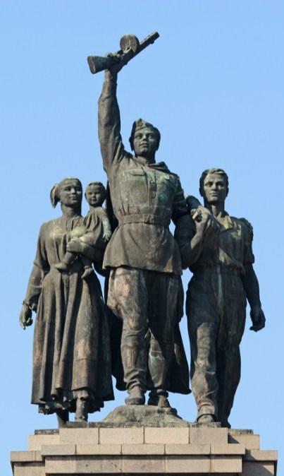 Sofía. Monumento al Ejército Soviético