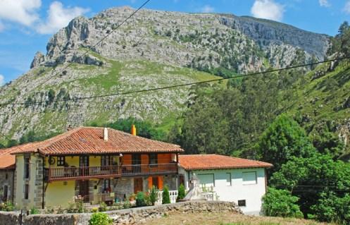 Casa típica montañesa