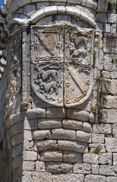 Escudo de Catalina de Velasco y Mendoza