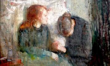 Edward Munch. La Niña Enferma