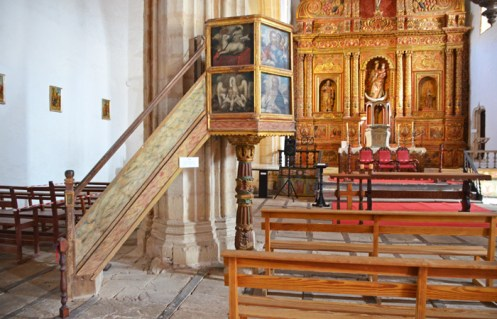 Púlpito - Iglesia Santa María