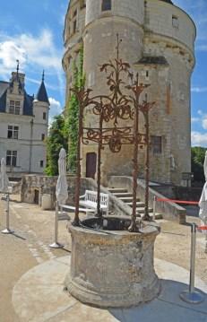 Chenonceau - Pozo del antiguo castillo