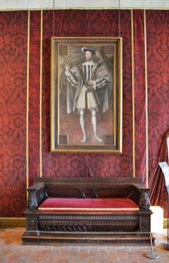 Chambord - Retrato de Francisco I
