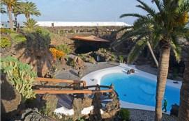 Vista de la piscina