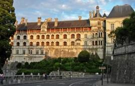 Castillo de Blois - Fachada de las Logias