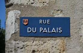 Blois - Cartel Calle de Palacio