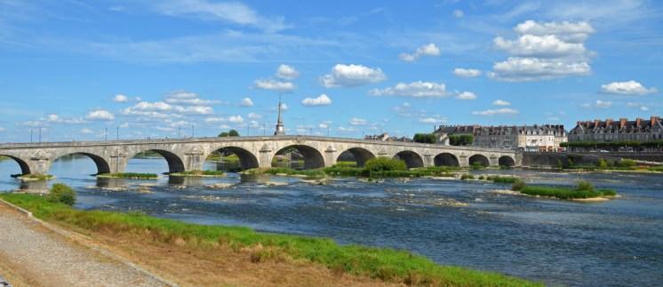Blois - Puente sobre el Loira
